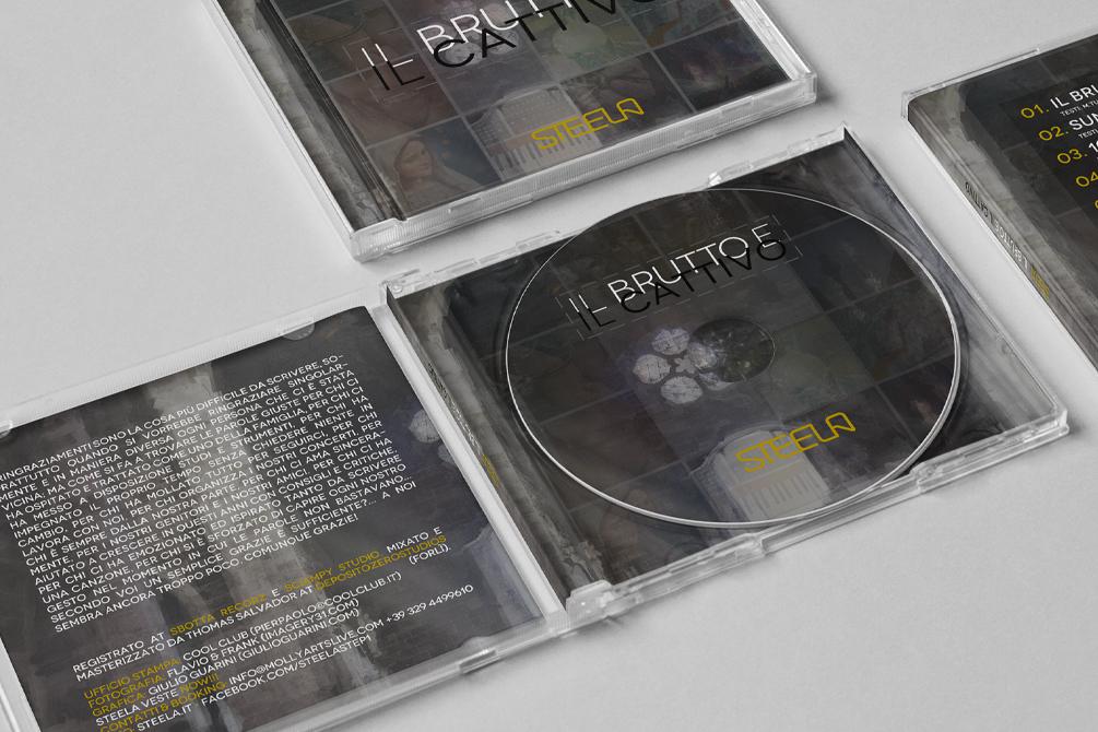 """Steela """"Il Brutto e il Cattivo"""" – Cd pack, digital, print - img 2"""