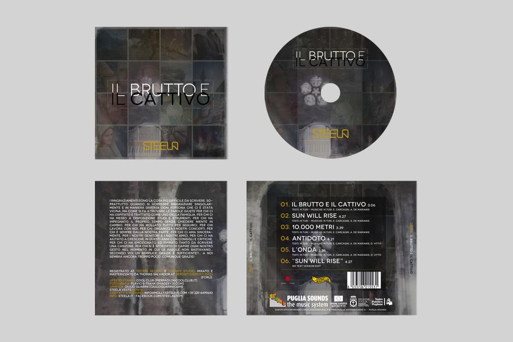 """Steela """"Il Brutto e il Cattivo"""" – Cd pack, digital, print - img 4"""