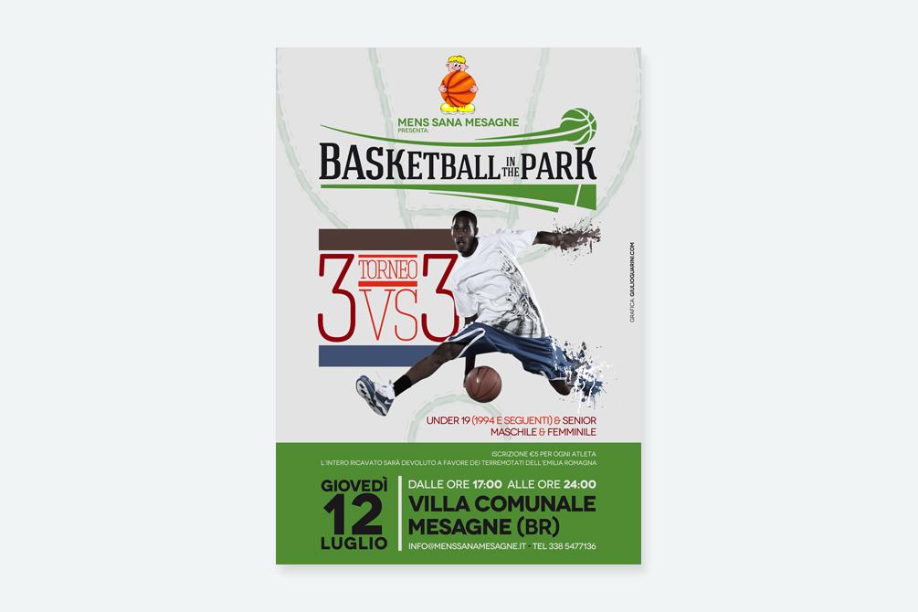Basketball in the park - Manifesto - img 1