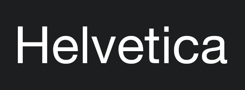 helvetica-post