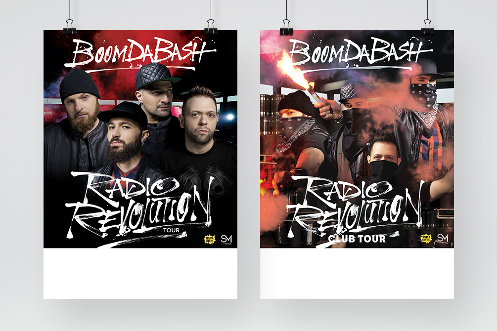 "Boomdabash ""Radio Revolution"" - CD/Vinyl Pack, Tour Poster - img 11"
