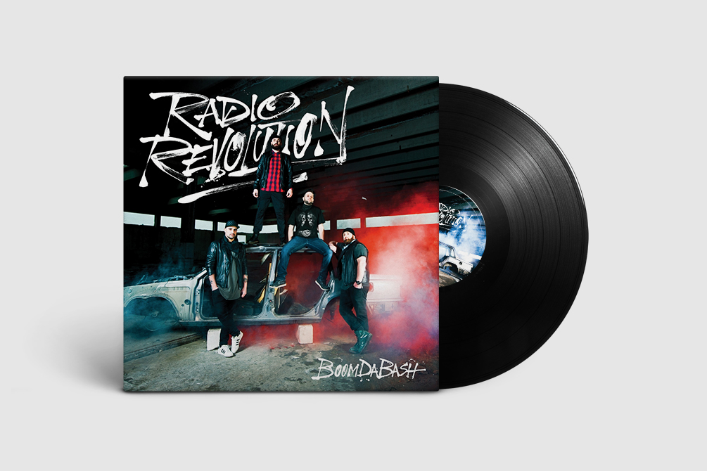 "Boomdabash ""Radio Revolution"" - CD/Vinyl Pack, Tour Poster - img 9"