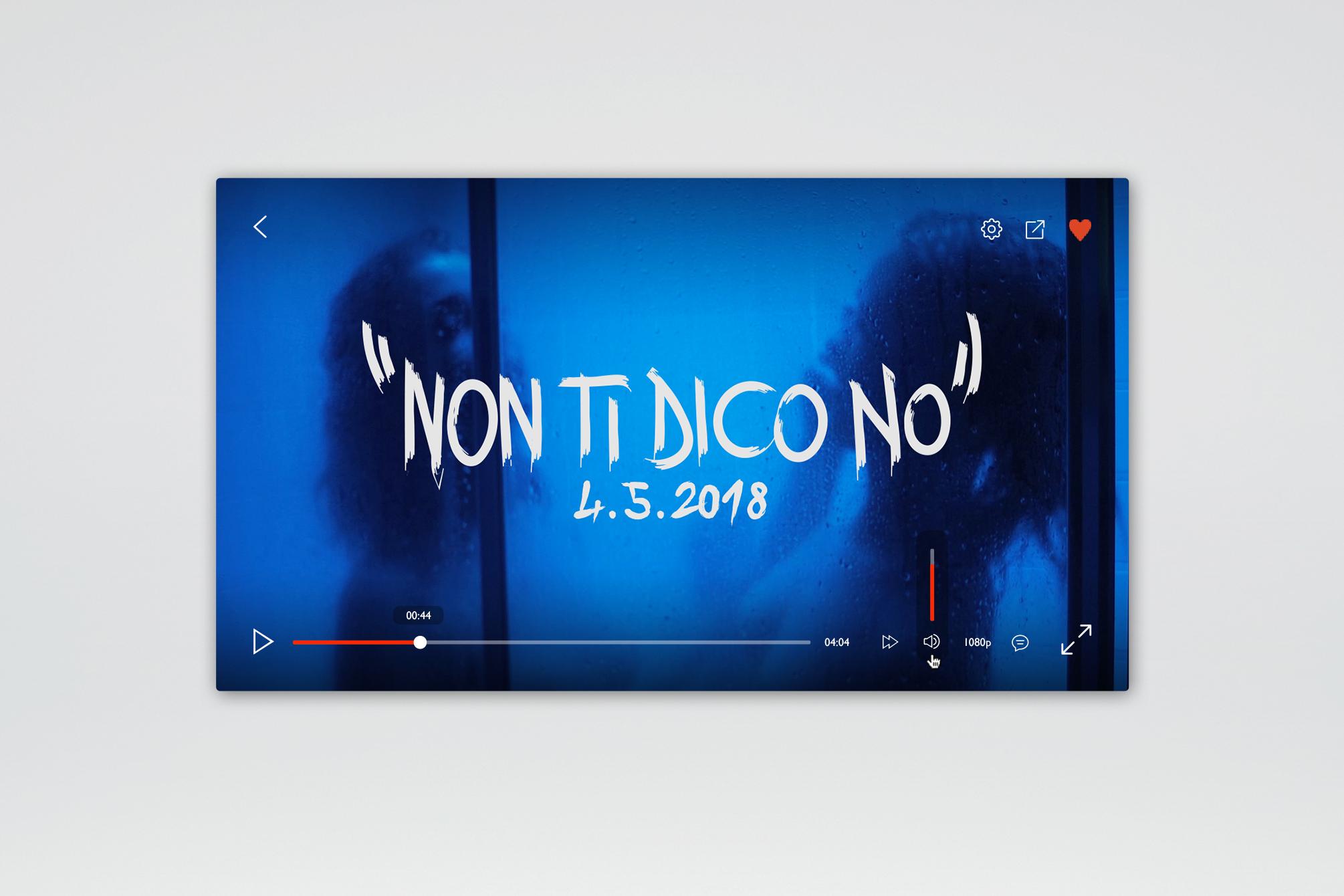 """Boomdabash & Loredana Bertè """"Non Ti Dico No"""" - Artwork Cover - img 3"""