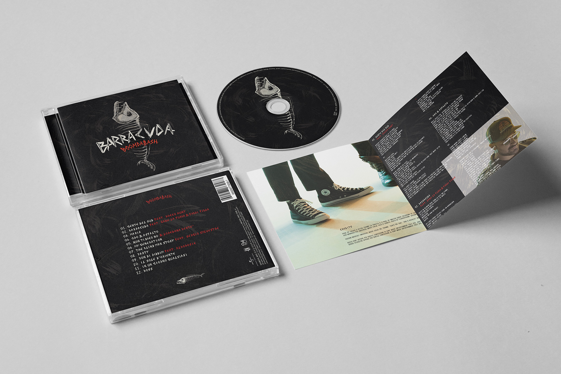 "Boomdabash ""Barracuda"" – CD Pack, Tour Poster - img 6"