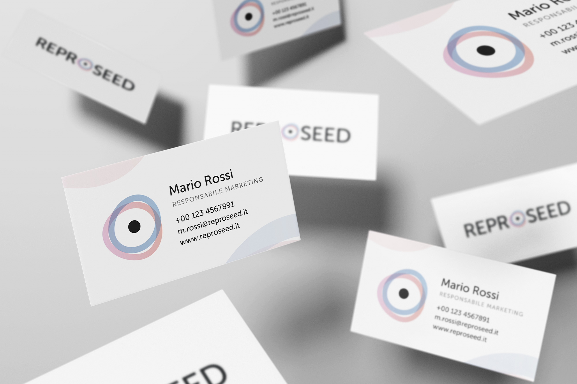 REPROSEED – logo, branding, adv, web - img 3