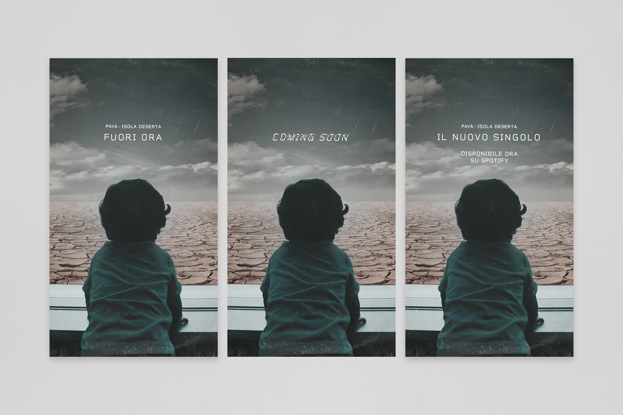 """Payà """"Isola Deserta"""" – Artwork Cover - img 3"""
