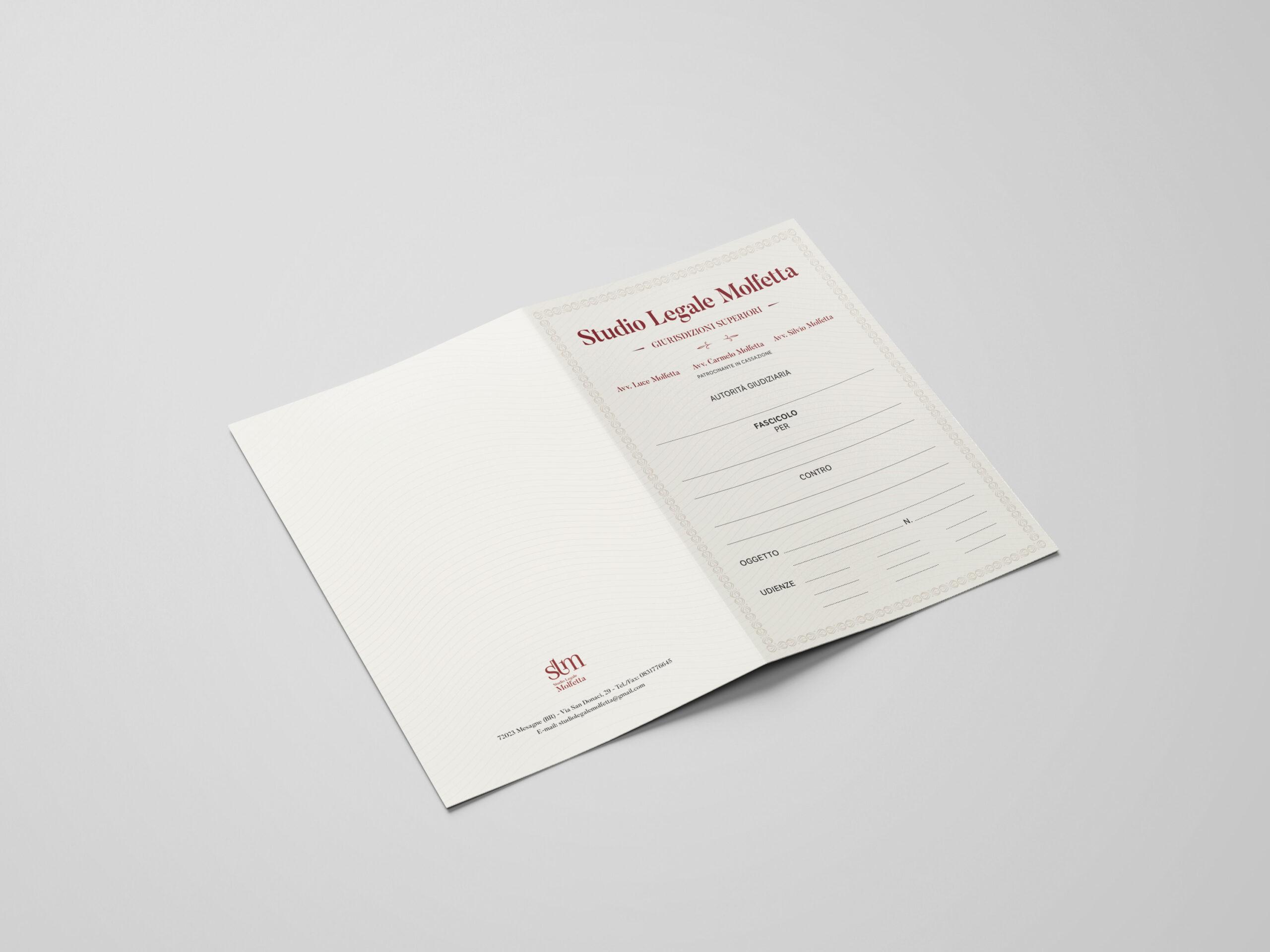 Studio Legale Molfetta - logo, branding, print - img 3