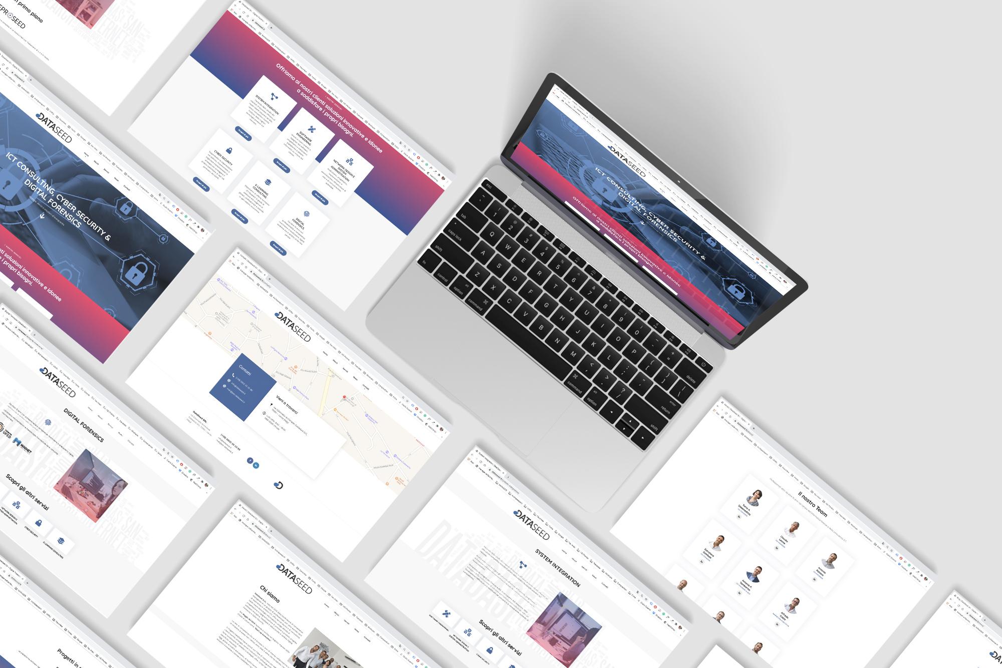 DataSeed - logo, branding, web, print - img 5