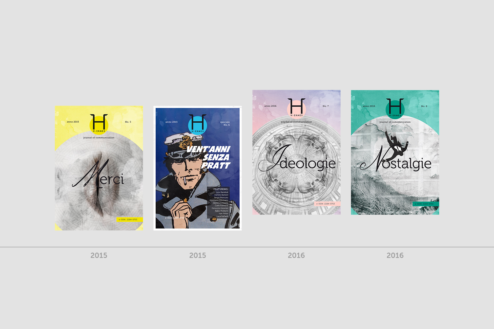 H-ermes – Logo, branding, journal cover - img 4