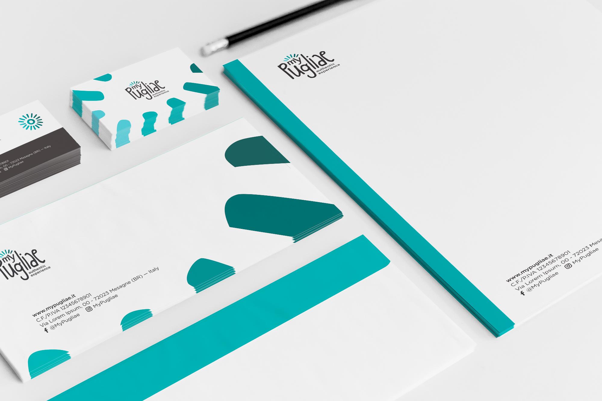 MyPugliae - logo/branding, digital, print - img 3