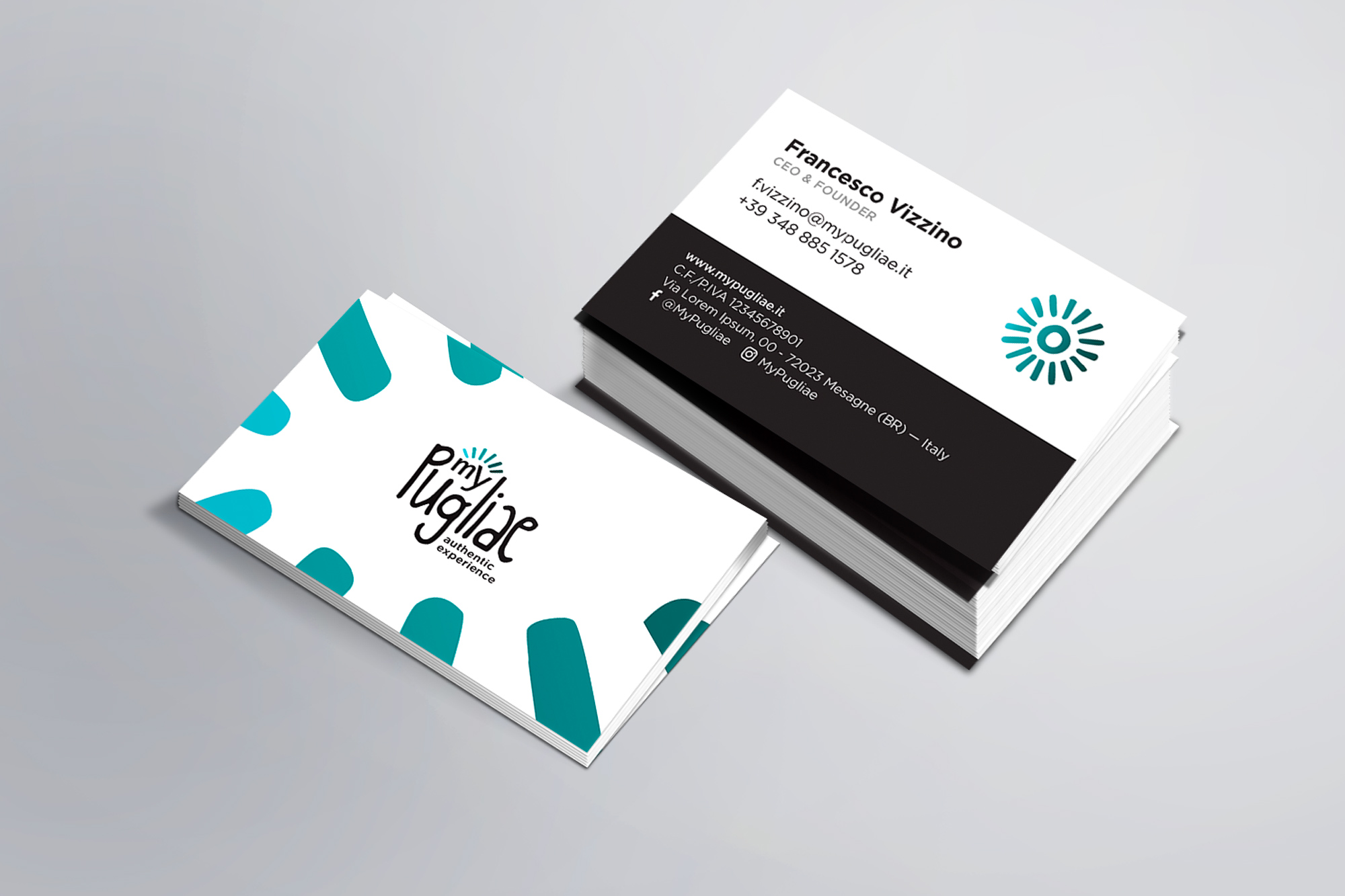 MyPugliae - logo/branding, digital, print - img 4