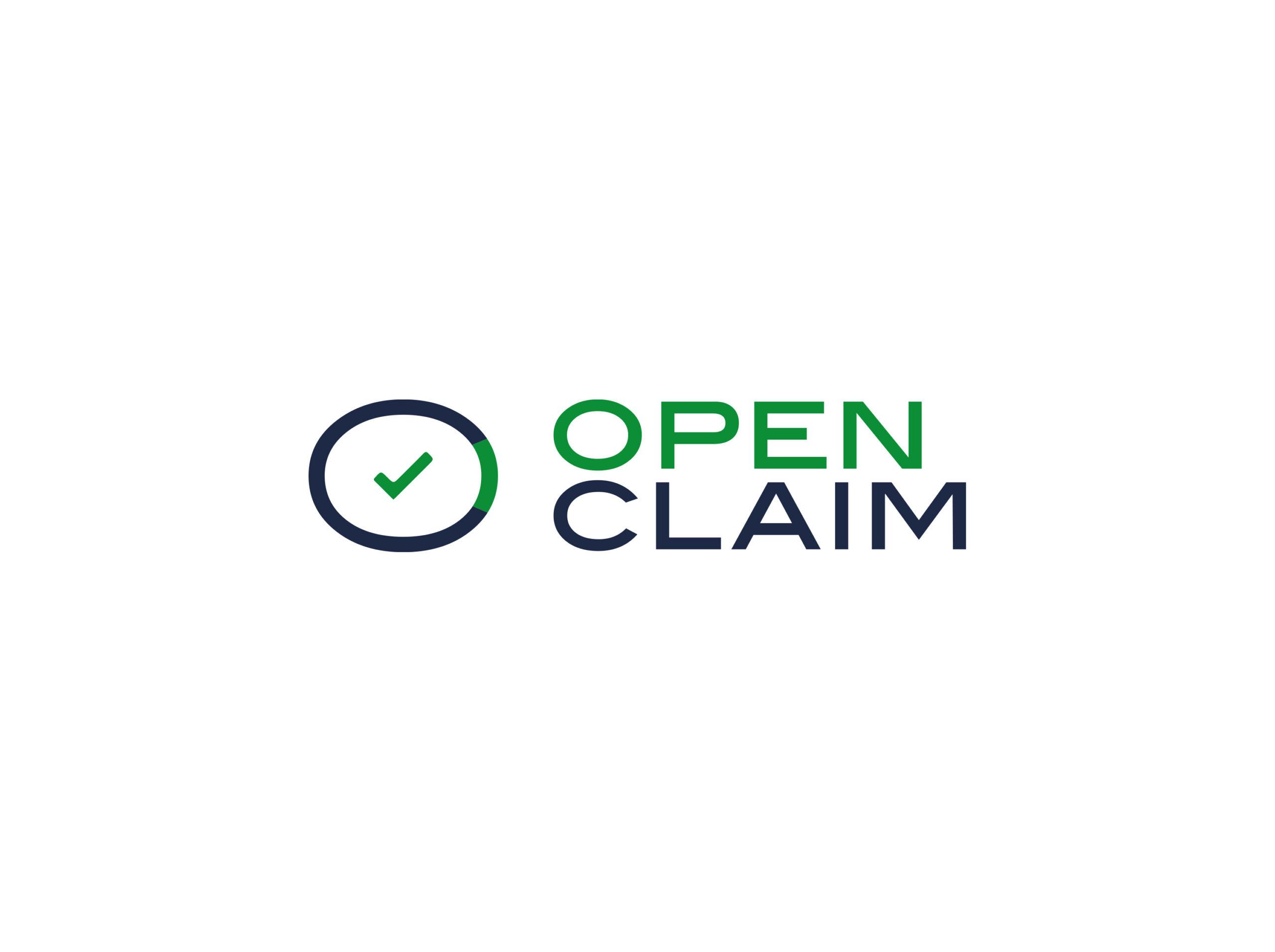 Open Claim - logo, branding, print - img 1