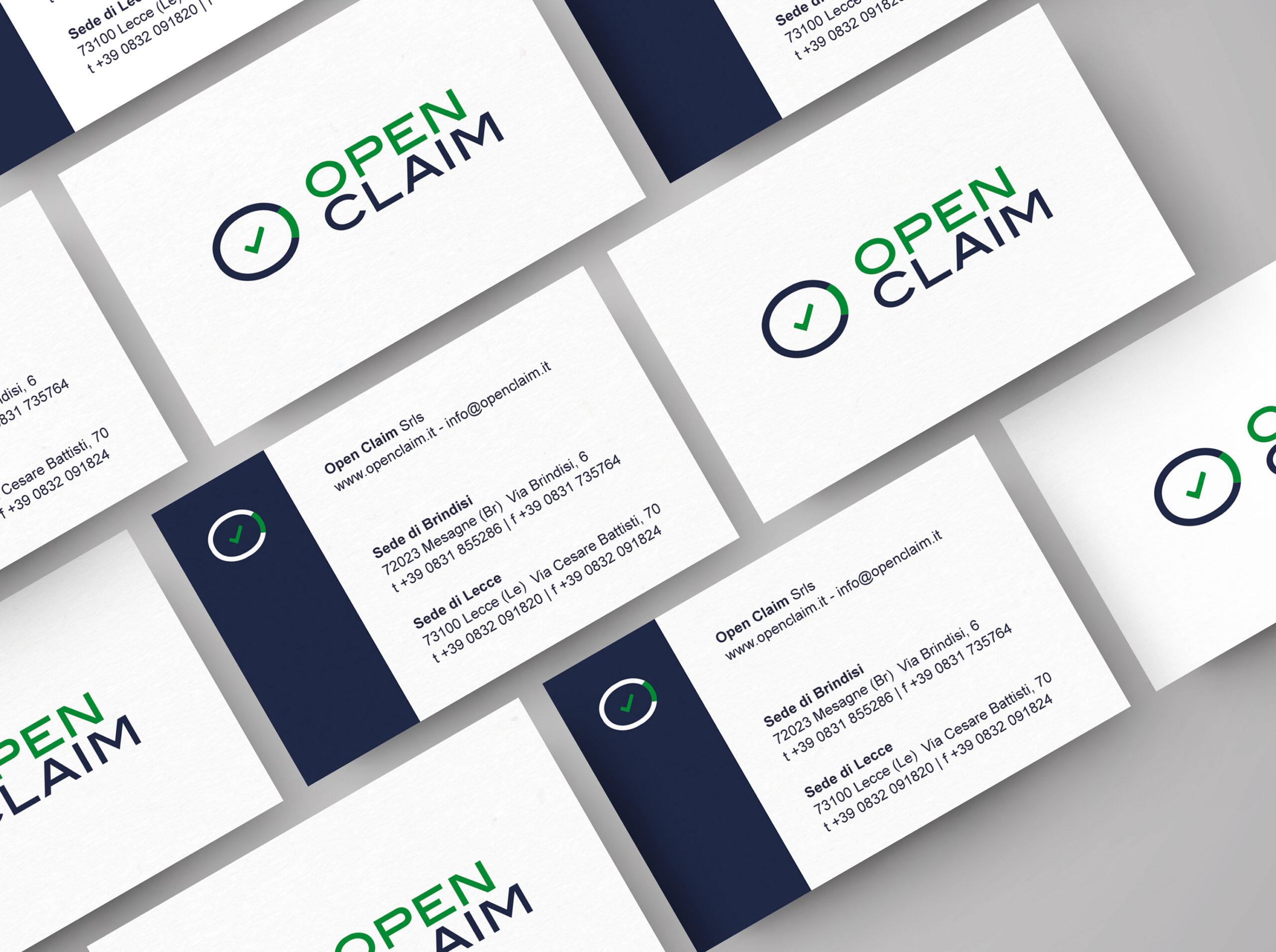 Open Claim - logo, branding, print - img 2
