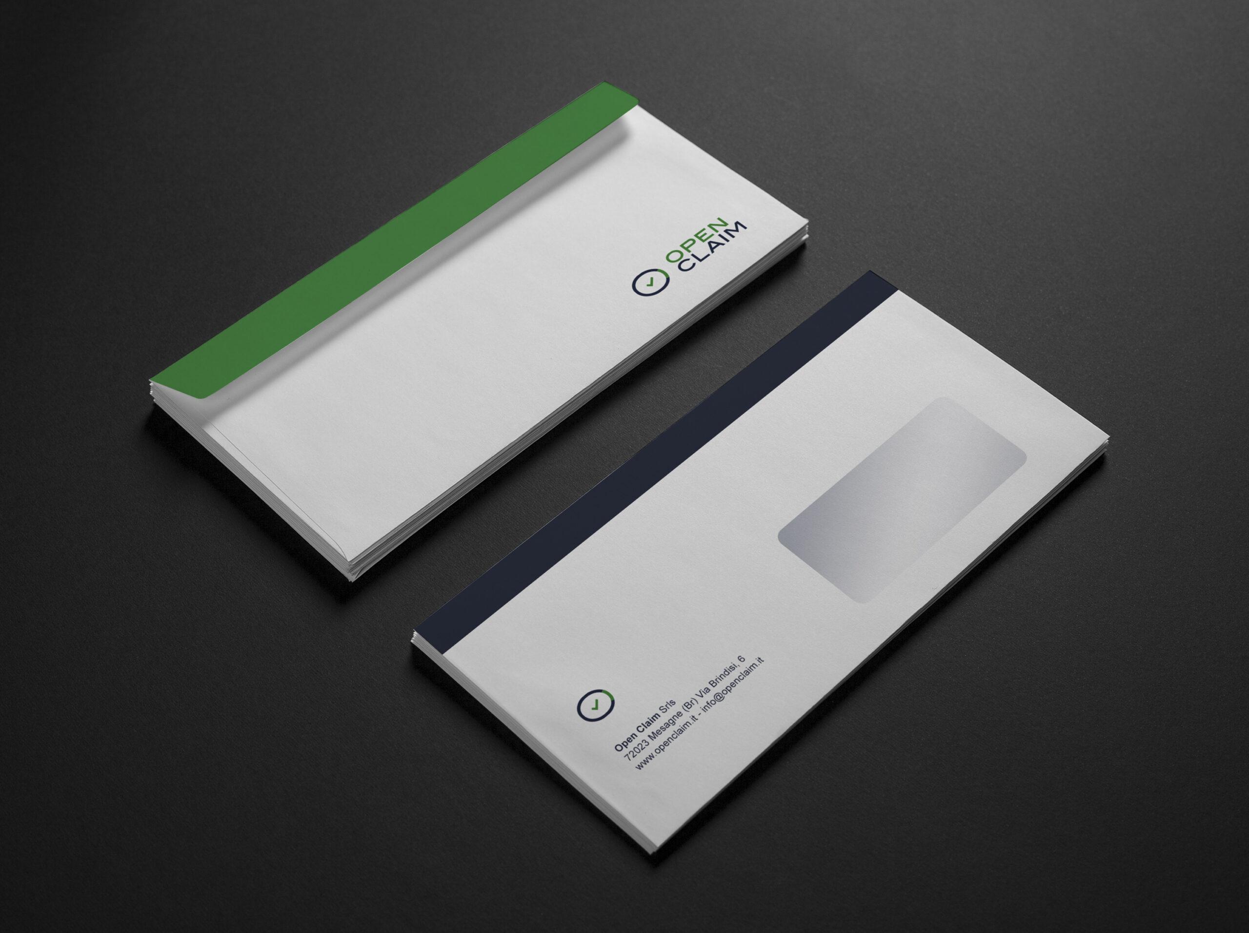 Open Claim - logo, branding, print - img 6
