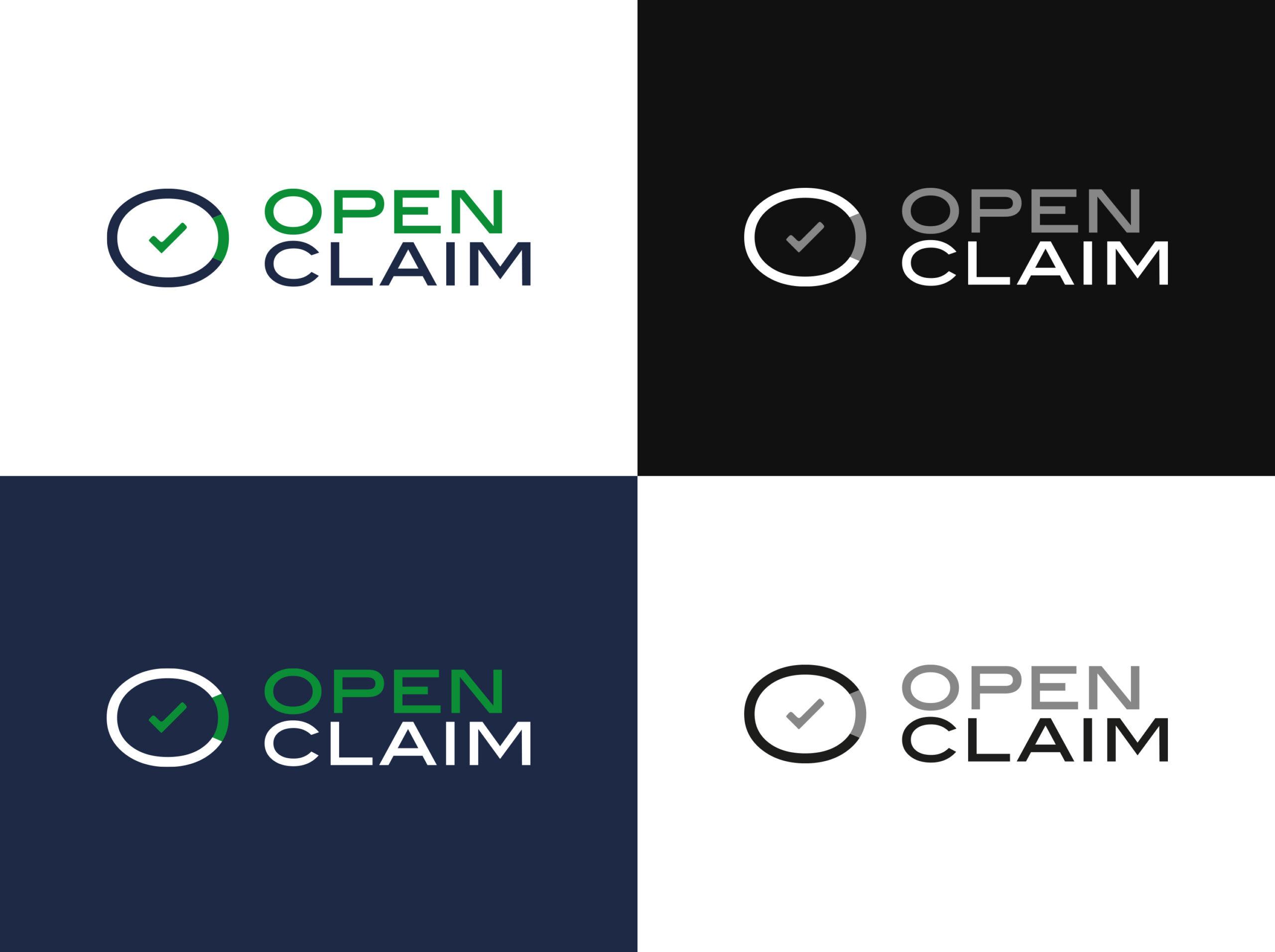 Open Claim - logo, branding, print - img 7