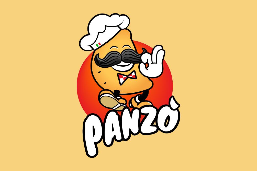 logo Panzò - Panzerotto da passeggio
