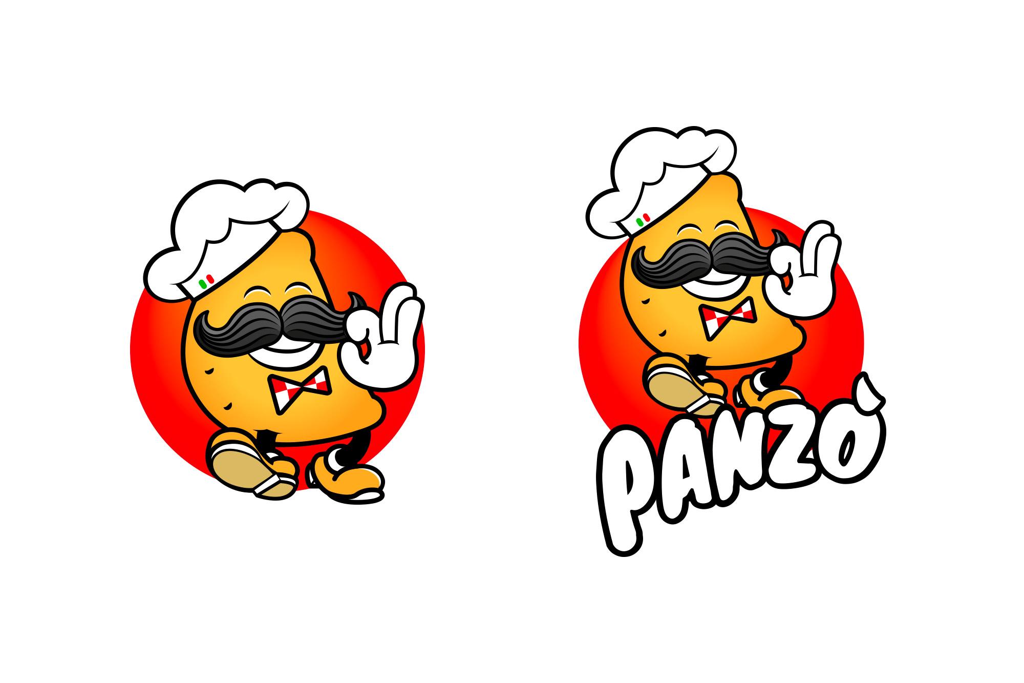Panzò - Panzerotto da passeggio - logo, branding - img 3