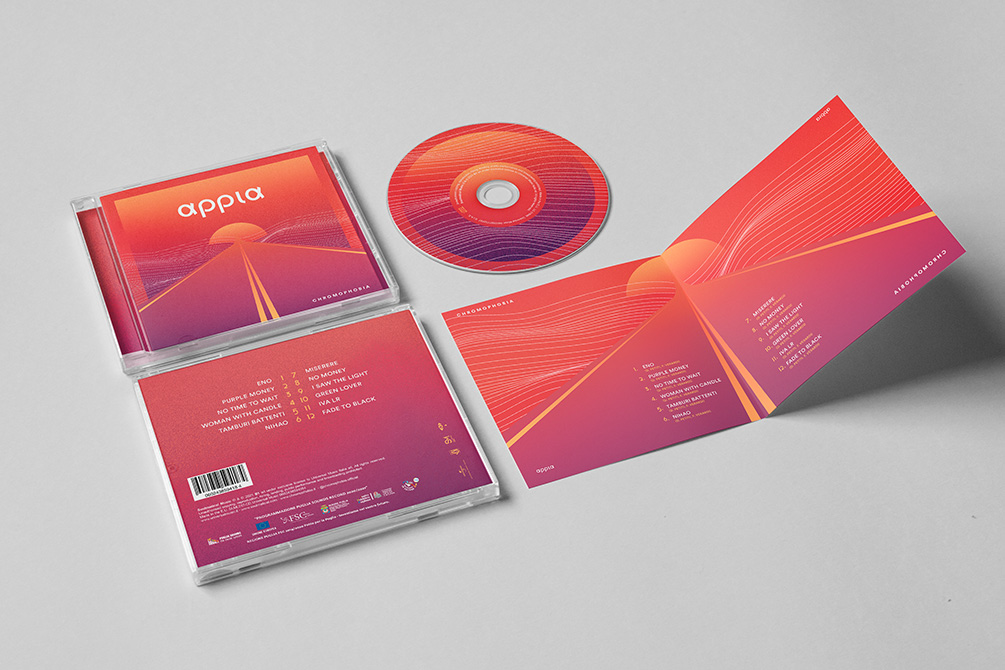 cd cover Appia - Chromophobia