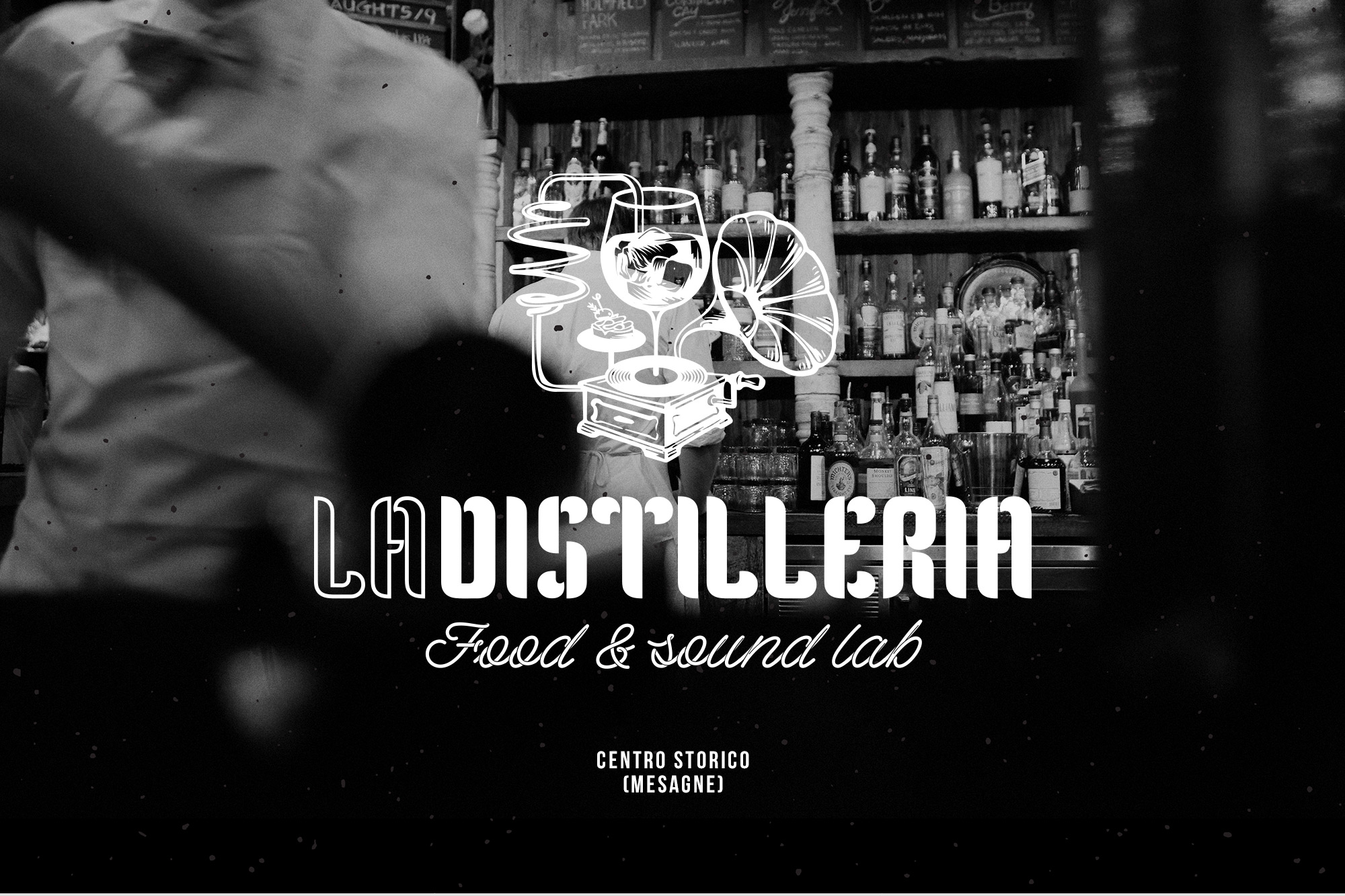 La Distilleria - Food & Sound Lab - logo, branding - img 2
