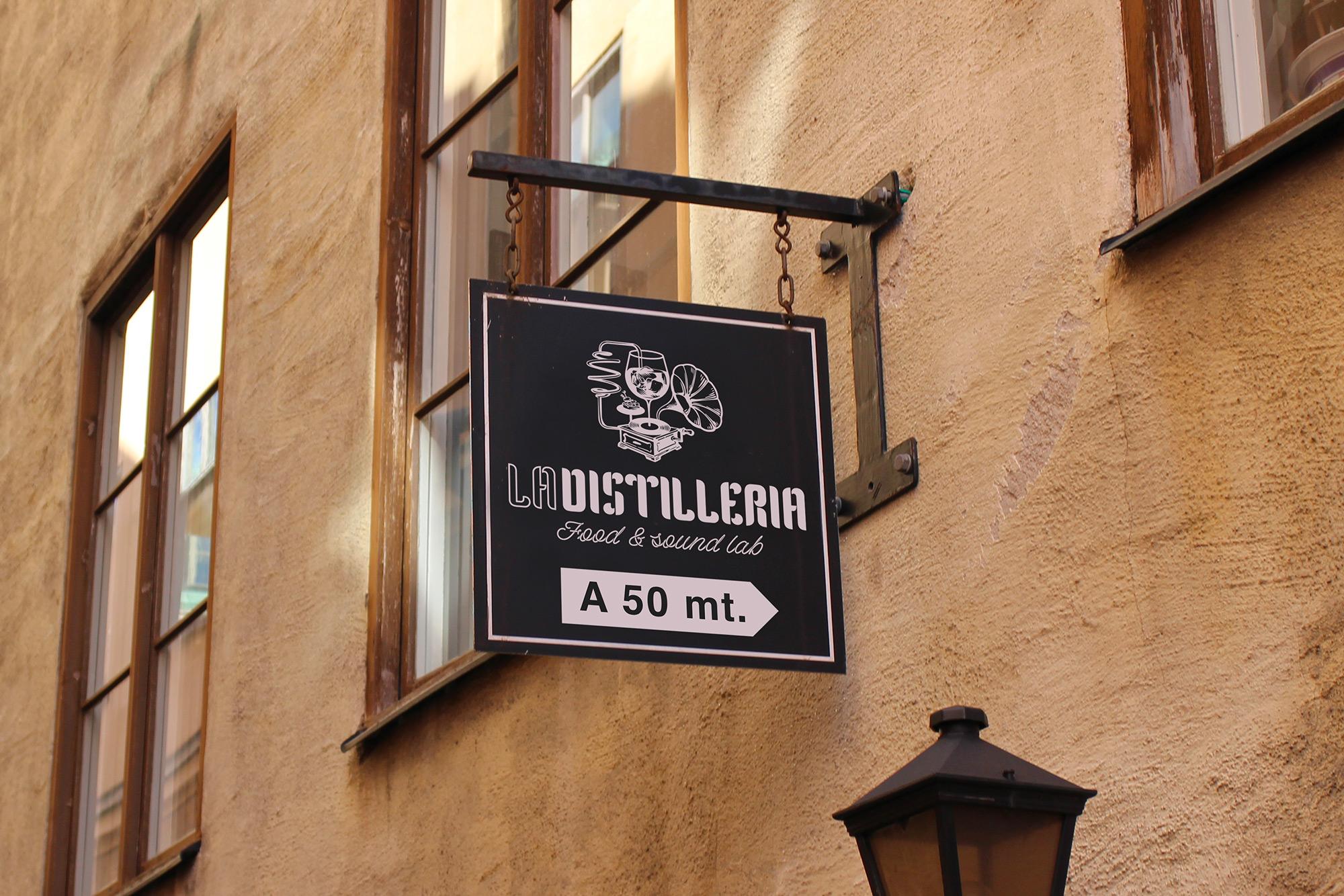 La Distilleria - Food & Sound Lab - logo, branding - img 4