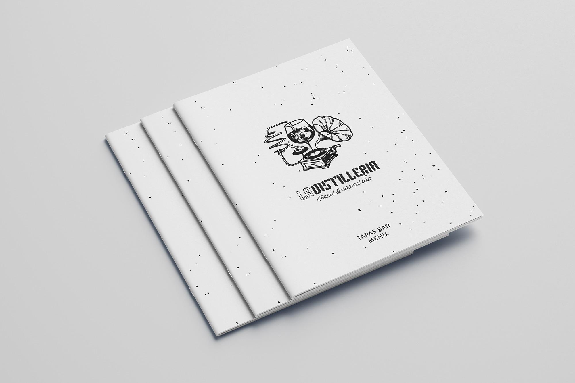 La Distilleria - Food & Sound Lab - logo, branding - img 5
